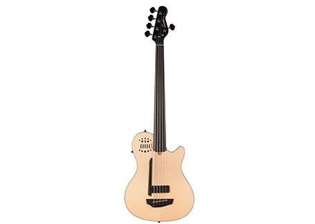 A5 Bass ULTRA Natural SG Fretless EN SA