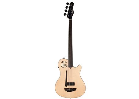 A4 Bass ULTRA Natural SG Fretless EN SA