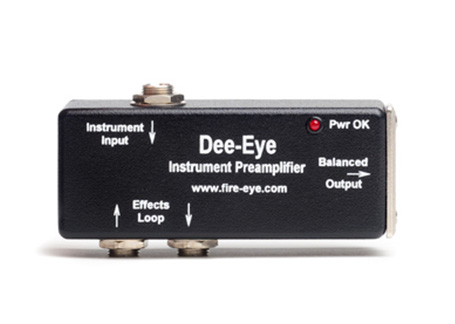 DEE-EYE INSTRUMENT PREAMPLIFIER?