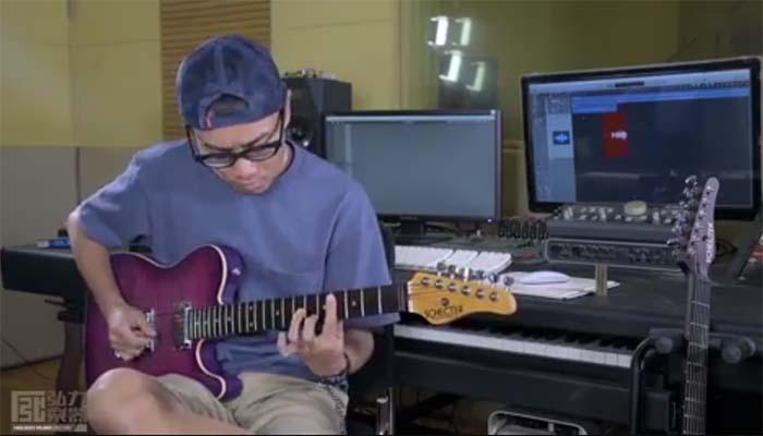 刘翊 - 雪 - Schecter USA Masterworks 吉他