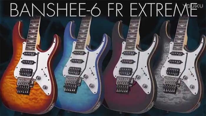 Schecter Banshee-6 FR Extreme