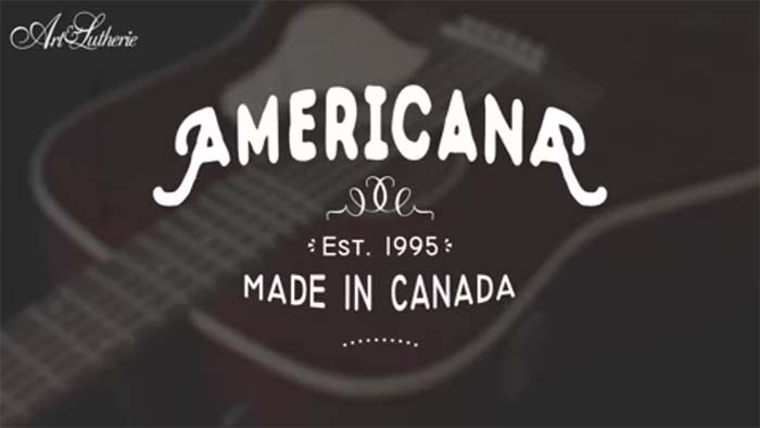 Art & Lutherie Americana Guitar