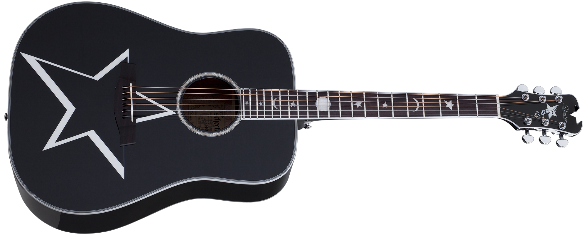 Robert Smith RS-1000 Busker Acoustic Gloss Black (BLK) SKU #283
