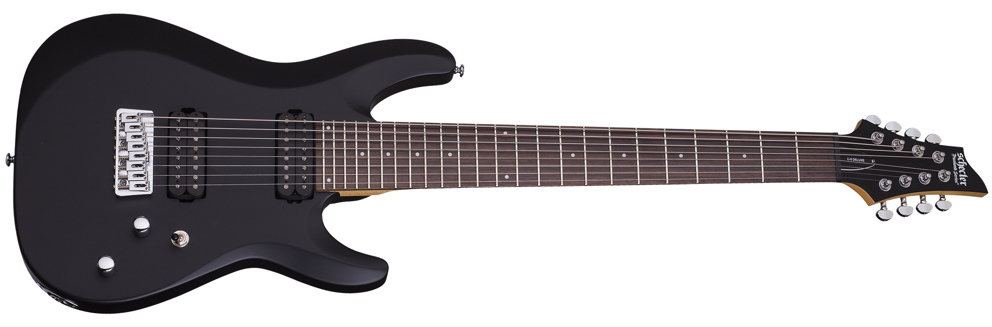 C-8 Deluxe Satin Black (SBK) SKU #440