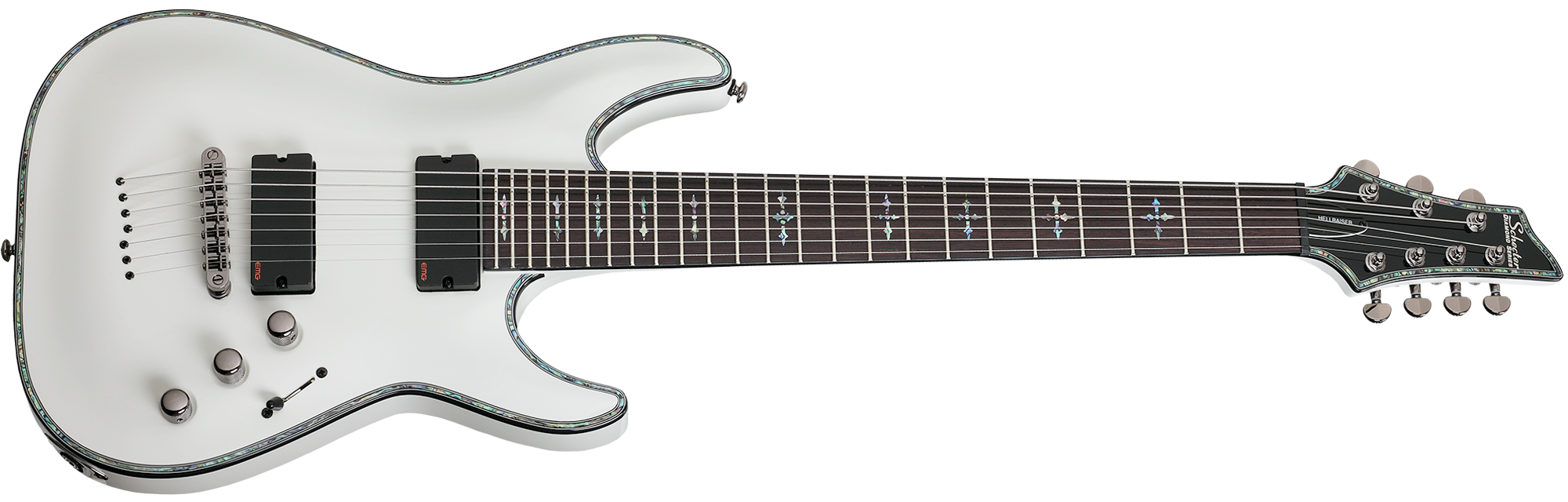 Hellraiser C-7 Gloss White (WHT) SKU #1810