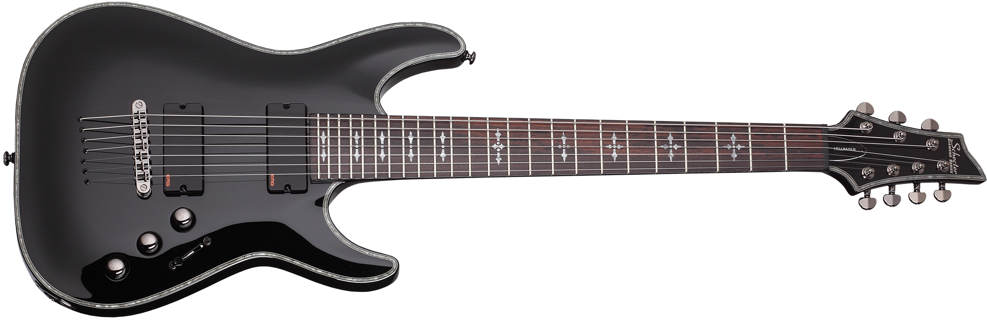 Hellraiser C-7 Gloss Black (BLK) SKU #1789