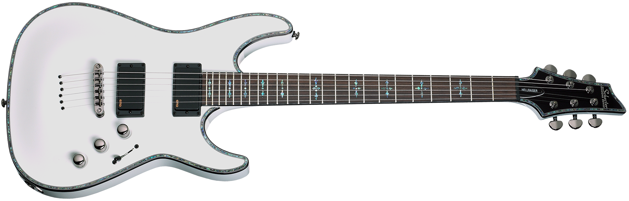 Hellraiser C-1 Gloss White (WHT) SKU #1808