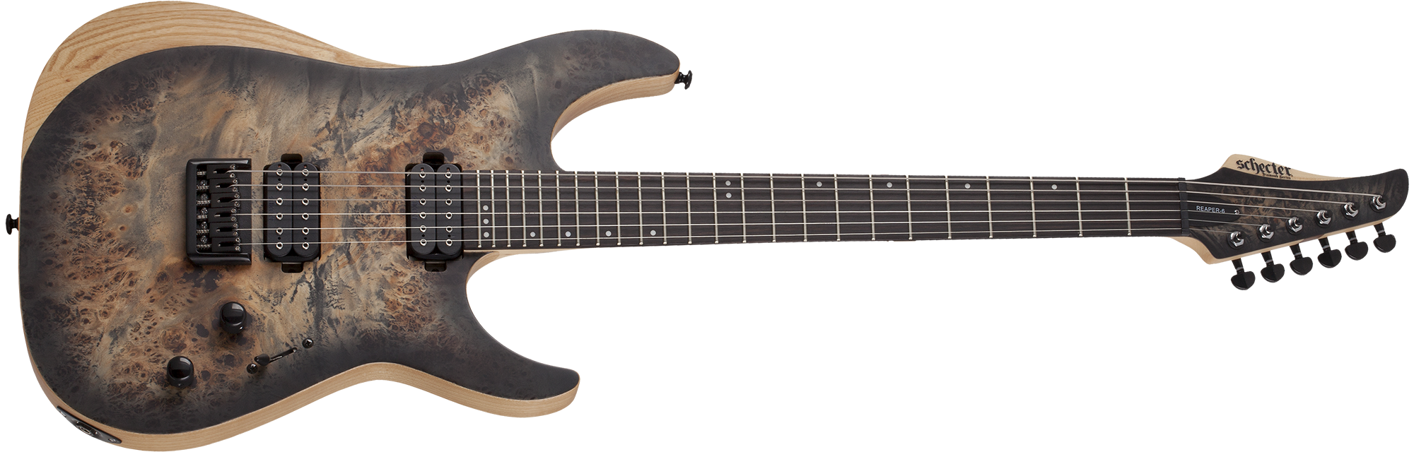 Reaper-6 Satin Charcoal Burst (SCB) SKU #1500