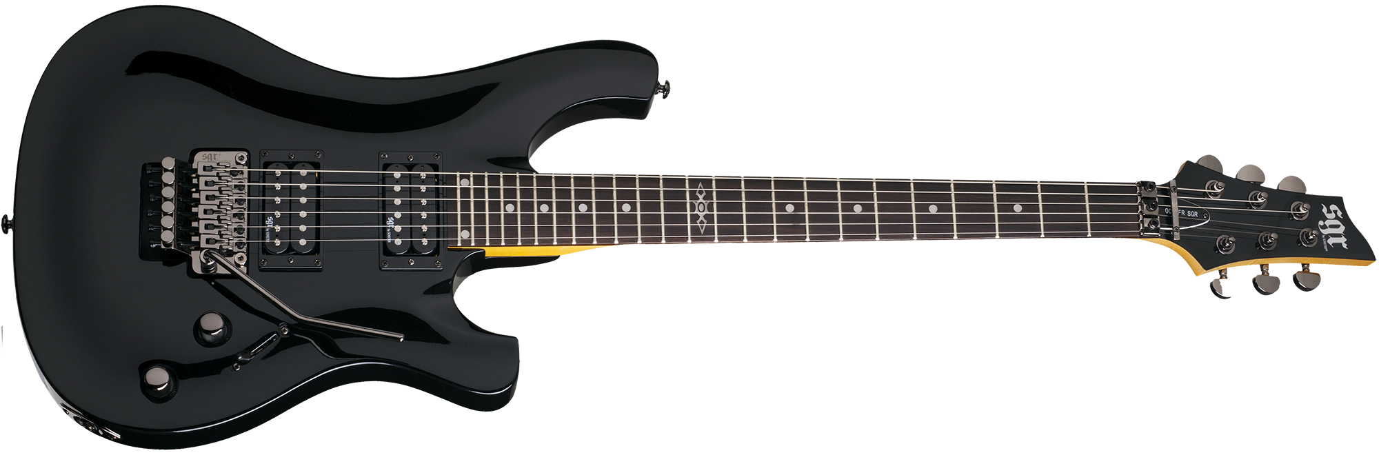 006 FR SGR by Schecter Gloss Black (BLK) SKU #3838