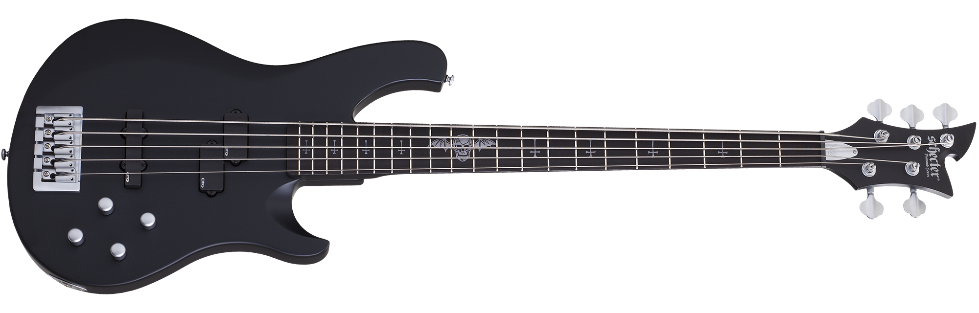 Johnny Christ-5 Bass Satin Black (SBK) SKU #278