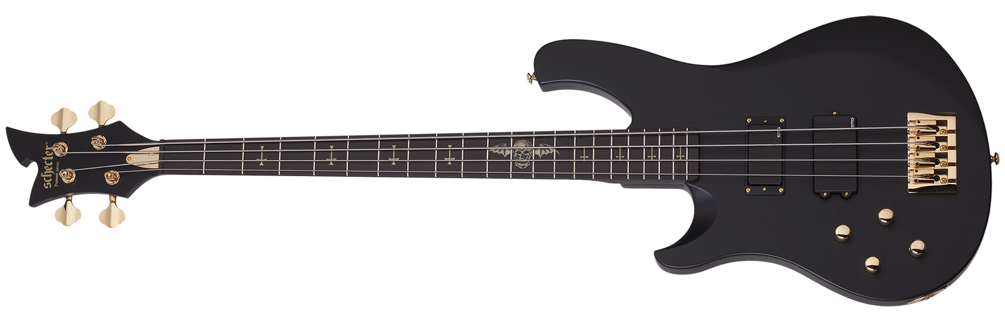 Johnny Christ Bass LH Satin Black (SBK) SKU #212